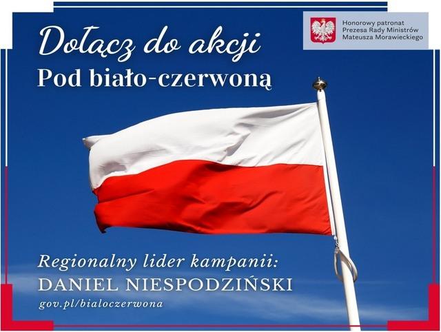 pod biało czerwoną flagą