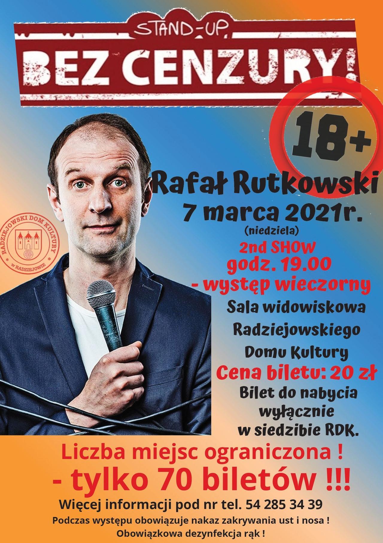 Stand-Up Rafała Rutkowskiego